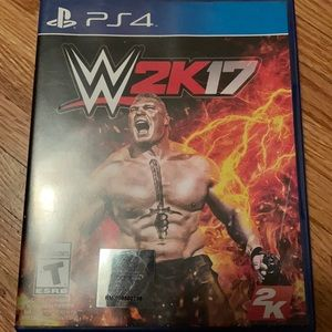 PS4 W2K 17 game